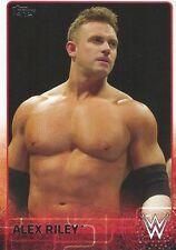 Alex Riley Topps WWE 2015 Trading Card #3