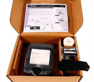 Psion Teklogix PTX-MLP 3040 33049 Mobile Label Printer 33049 WiFi Network 203DPI