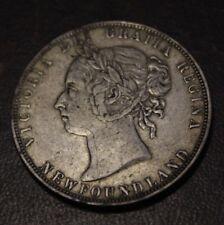 Newfoundland 1900 50 Cents VF+