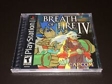 Breath of Fire IV 4 Playstation 1 PS1 Brand New Factory Sealed