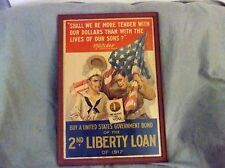 Framed Print/Buy US Government Bonds/2nd Liberty Loan of 1917