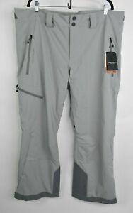 NEW Obermeyer Mens Force Ski Snow Pants 25020 Zinc Gray Size 2XL Regular $220