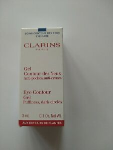 CLARINS Eye Contour Gel For Puffness & Dark Circle 3ml Brand New Boxed