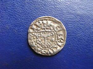 Henry III Silver Voided Long Cross Penny, Class 3(a-b) London 1216-47