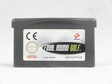 Ronda final Golf Nintendo Game Boy Advance cartucho sólo