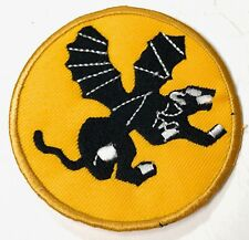 WWII US AIRBORNE PARATROOPER 555TH CHEST JACKET POCKET PATCH INSIGNIA