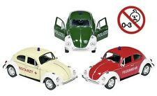 VW Käfer Krankenwagen beige VOLKSWAGEN Modellauto Welly