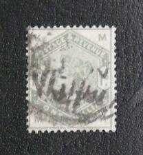 TIMBRES DE GRANDE BRETAGNE : 1883/84 YVERT N° 85 Oblitéré - ONE SHILLING VERT