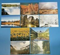 Set of 10 NEW Landscapes Trees water & Flowers Set 2 Postcards for Postcrossing