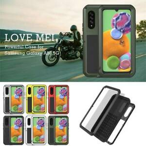 Shock/Water Proof Metal Rugged Hard Case Cover Fr Samsung Galaxy A30 A50 A70 A90