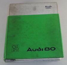 Werkstatthandbuch Audi 80 B2 ab 1978
