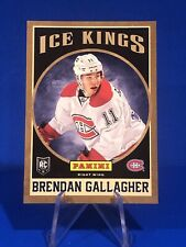 2013-14 Panini Ice Kings Brendan Gallagher Rookie Card Montreal Canadiens