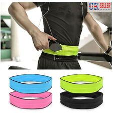 Sports waist Belt Mobile Phone Holder Bag Running Gym WaistBand Exercise Bag UK