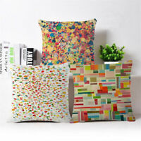 "Abstract design Cotton Linen Throw Pillow Case Cushion Cover Home Decor 18""*18"""