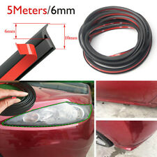 5 Meter Sealing Strip T Type Rubber For Car Edge Trim Bumper Side Skirt Fits Saab