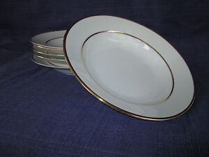 10 Strawberry Street Double Gold Line LARGE RIM SOUP BOWL 1 of 6 available