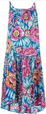 Monsoon Storm Paloma Girls Summer Dress Age 11 - 12 Bnwt Floral Multi Coloured