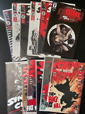 New listing Sin City Comics Lot Frank Miller Dame To Kill For Big Fat Kill Babe Wore Red