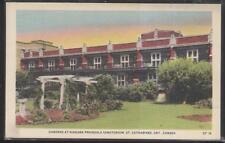 Postcard ST CATHARINES Ont/CANADA  Niagara Peninsula Sanatorium Gardens 1910's
