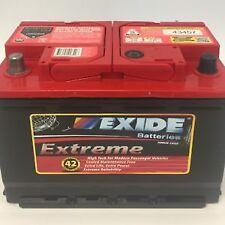 Exide Extreme XDIN66HMF Car Battery 750CCA 66HMF 42mth Warranty VE VF Commodore