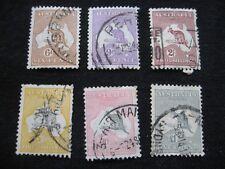 Australia: 1931-36 Kangaroo Definitives to £1 used