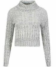 Chunky, Cable Knit Cotton Machine Washable Regular Jumpers & Cardigans for Women