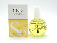 CND Essentials SOLAR OIL Nail Cuticle Conditioner Treatment 2.3 oz NEW BOTTLE