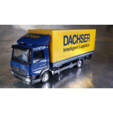 "Herpa 307413 H0 Mercedes-benz ATEGO Schedule Truck ""dachser"" With Loading Deck"