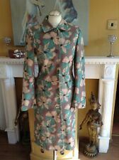 BODEN COAT PRETTY FLORAL SHABBY CHIC  UK 8