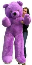 Big Plush 6 Foot Giant Purple Teddy Bear Soft 72 Inch Lifesize Stuffed Animal