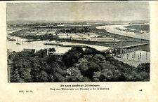 Die neuen Hamburger Filteranlagen - Holzstich - aus 1868