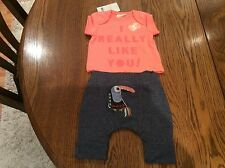 Next Baby Girls Top And Leggings Set First Size...7.8 Lbs..3.4 Kg Bnwt