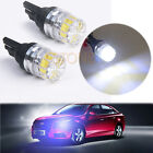 2X T10 5050 5 SMD White LED Car Vehicle Side Tail Lights Bulbs Lamp
