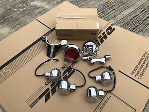 Genuine Chrome LED Taillight Assy F&R Turn Signal set EU   FOR Honda Monkey 125