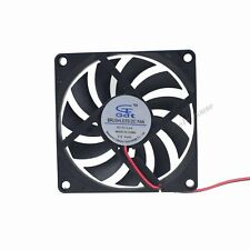 80mm DC 5V 2Pin XH2.54 Brushless PC Computer Cooler Cooling Fan Sleeve Bearing