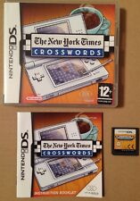 The New York Times Crosswords Game For Ds Dsi Ds Lite 3Ds Nintendo *99p UK P&P*