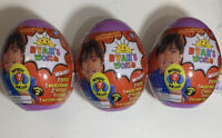 2019 RYAN'S WORLD Series 2 MYSTERY MINI Purple EGG Lot of 3 NEW/SEALED