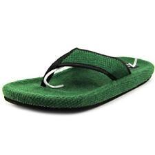 Scarpe da uomo verde tessile