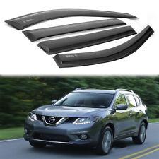 For Nissan X-Trail/Rogue 2014-2018 Window Visor Sun Rain Guard Vent Shade (Fits: Nissan)