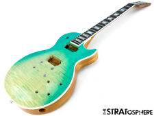 2019 Gibson USA Les Paul High Performance BODY & NECK HP AAA+ Seafoam Fade