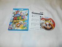 Super Mario 3D World Nintendo Wii U Game Complete CIB Tested