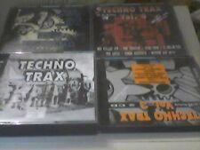 Techno Trax  Vol.1,2,3,4,5,6,7,8,9,10,11,12,13,17  sehr guter Zustand Sammlung