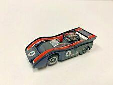 Vintage 1970'S Slot Cars Sharp # 4 Blk/Rd Racer Tyco Slot Car Fits Aurora Tjet