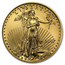 2007 1/2 oz Gold American Eagle - Brilliant Uncirculated