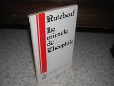 1978.miracle de théophile Rutebeuf.Roger Dubuis (envoi)