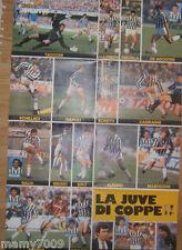POSTER=JUVE DI COPPE 1989/90=CM 80X54=HURRA' JUVENTUS