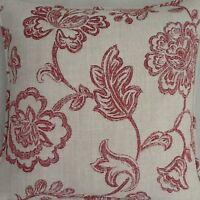 A 16 Inch Laura Ashley cushion cover In Ada Raspberry fabric