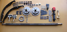 DIY Trailer Kit- 1.5Tonne Off Road Mechanical Disc Brake Single axle Kit !