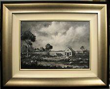Eric Minchin 1980's original oil Australian landscape