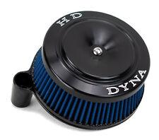 ACM Black Sucker High Flow Air Cleaner Intake Filter DYNA Cover Kit Harley Big